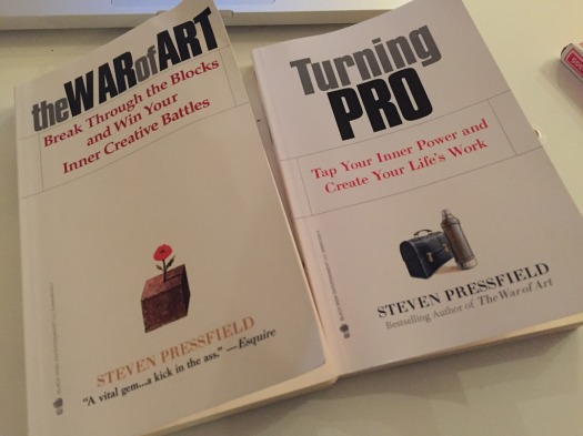 The War of Art & Turning Pro by Steven Pressfield