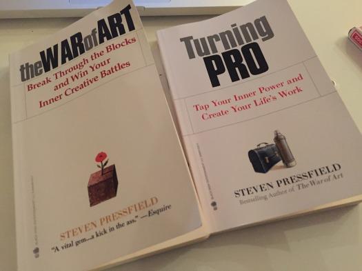 The War of Art & Turning Pro by Steven Pressfield